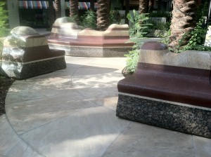 Courtyard Benches at Scottsdale Quarter