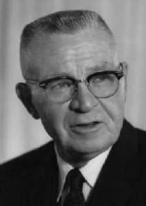 Eugene C. Pulliam, former publisher of the Arizona Republic, and freeway system critic
