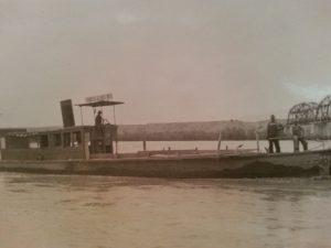 Arizona Navy Nellie T. Bush on the river_0